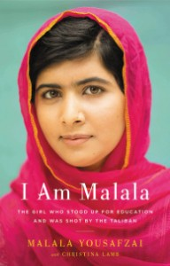 Photograph of Malala Yousafzai