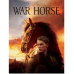 DVD cover of War Horse shows the male main character and his horse