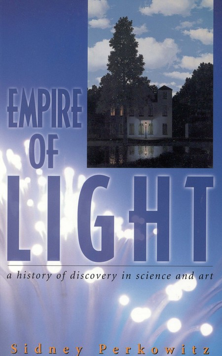 """A building and the title """"Empire of Light"""""""
