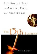 """Black and white cover with the title """"The 13th Element"""""""