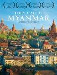 Overlooks urban area in Myanmar.