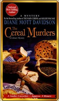 The Cereal Murders by Diane Mott Davidson book cover