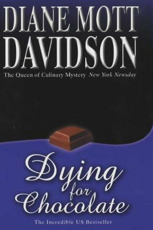 Dying for Chocolate by Diane Mott Davidson book cover