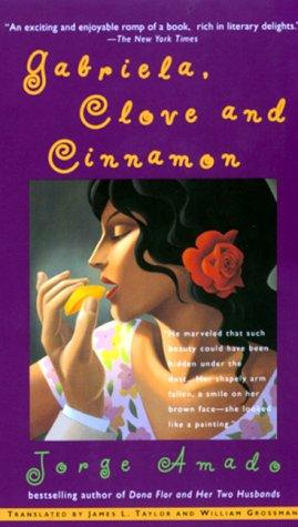 Gabriela, Clove and Cinnamon by Jorge Amado book cover