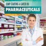 A woman in a pharmacy setting