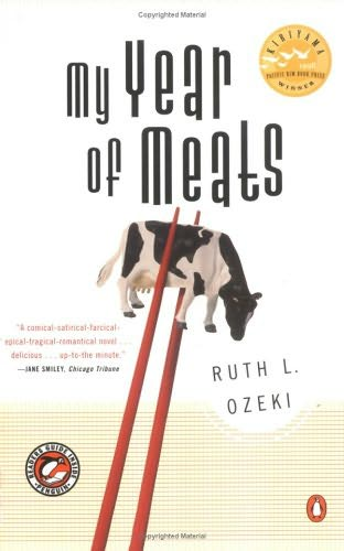My Year of Meats by Ruth Ozeki book cover