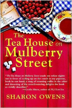 The Tea House on Mulberry Street by Sharon Owens book cover