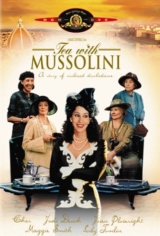 Tea with Mussolini DVD cover