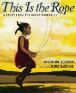 A young girl jumps rope