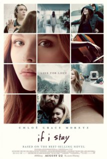 If I Stay. A girl looking directly at he viewer.