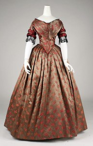 Evening Dress from 1842