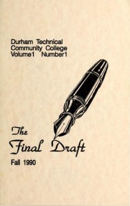 image of Final Draft journal cover