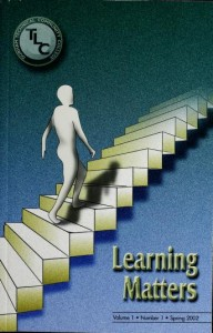 Image of Learning Matters Journal Spring 2002