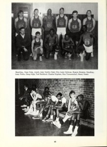 Photo of Durham Tech Basketball Team 1967