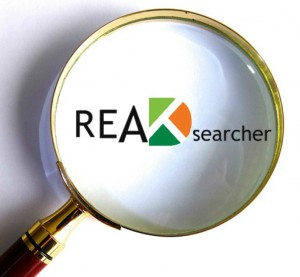 READsearcher magnifying glass icon
