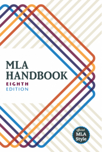 MLA 8th edition book cover