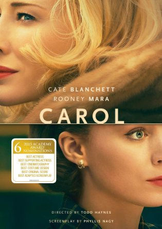 Carol DVD cover