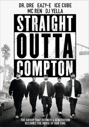 Straight Outta Compton DVD cover