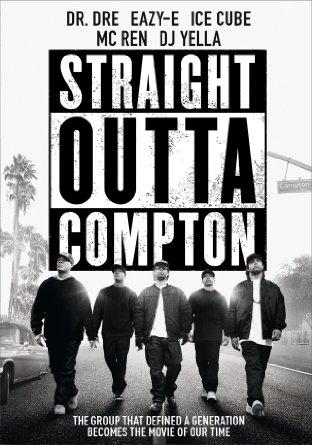 Straight Outta Compton DVD cover