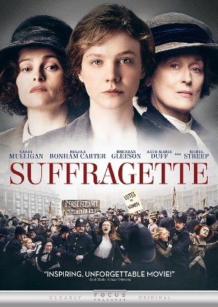 Suffragette DVD cover