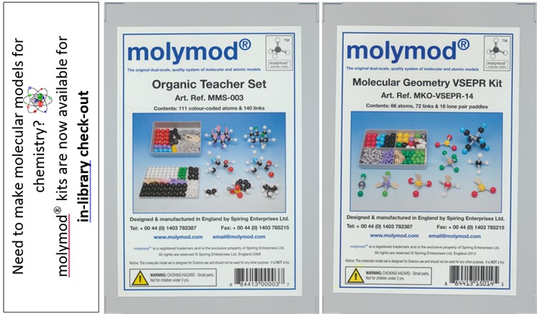 molymod organic and molecular geometry chemistry kit cases