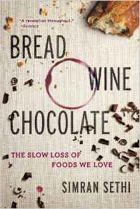 bread, wine, chocolate by Simran Sethi book cover
