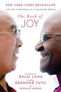 The Book of Joy by the Dalai Lama and Desmond Tutu book cover