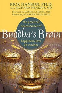 Buddha's Brain by Rick Hanson and Jack Kornfield book cover