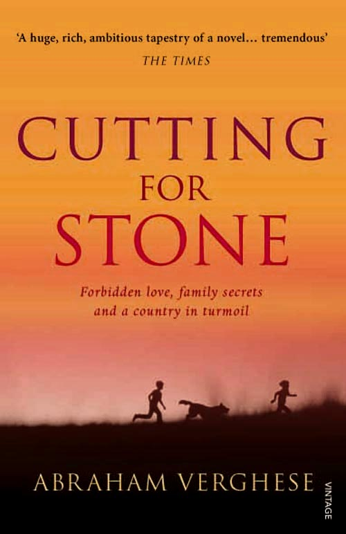 Cutting for Stone by Abraham Verghese book cover
