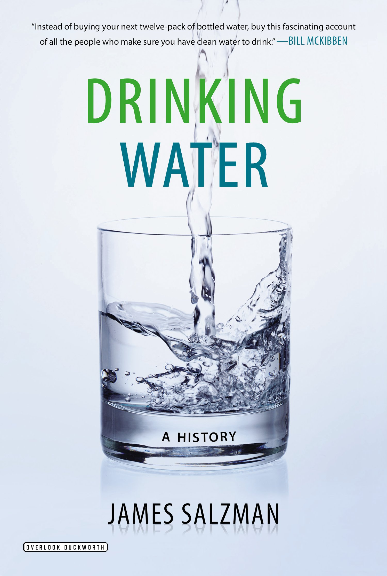 Drinking Water: A History by James Salzman book cover