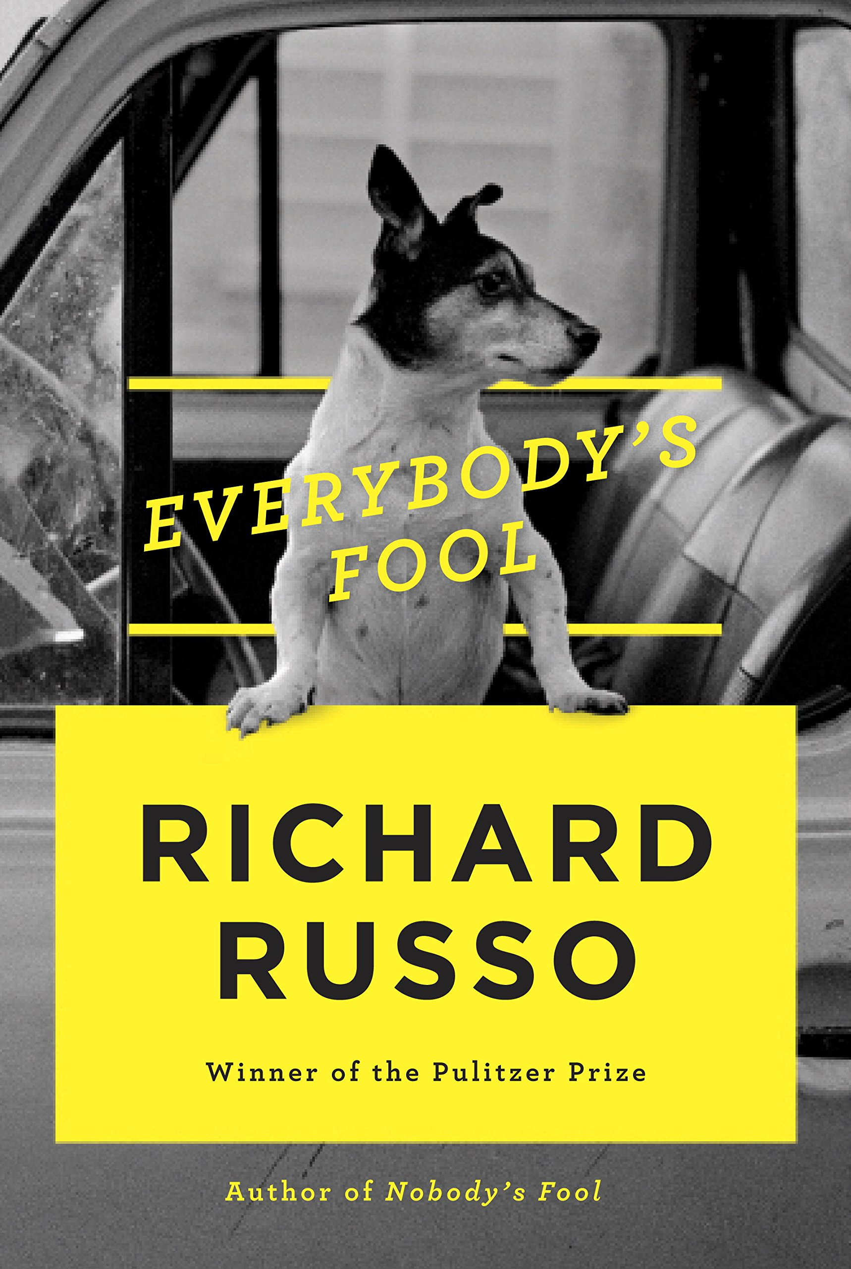 Everybody's Food by Richard Russo book cover