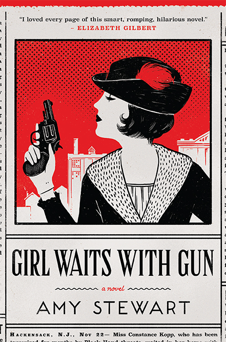 Girl Waits with Gun by Amy Stewart book cover