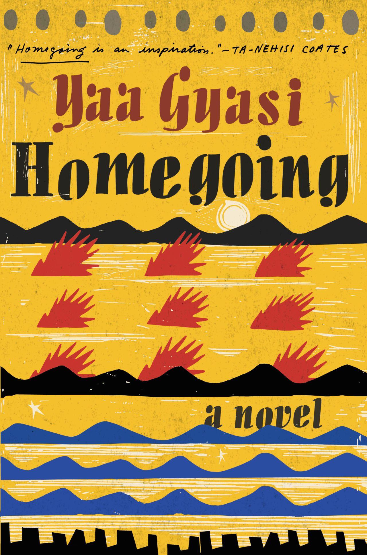 Homegoing by Yaa Gyasi book cover