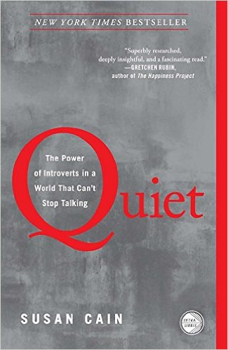 Quiet: The Power of Introverts in a World that Can't Stop Talking by Susan Cain book cover