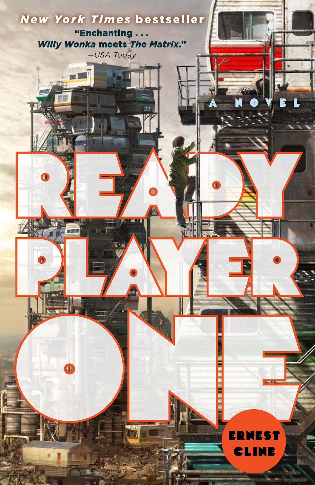 Ready Player One by Ernest Cline book cover