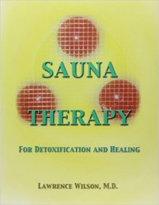 Sauna Therapy for Detoxification and Healing by Dr. Lawrence Wilson book cover