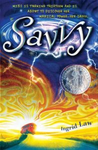 Savvy by Ingrid Law book cover