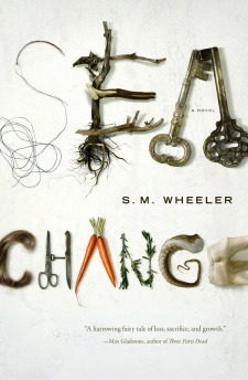 Sea Change by S.M. Wheeler book cover
