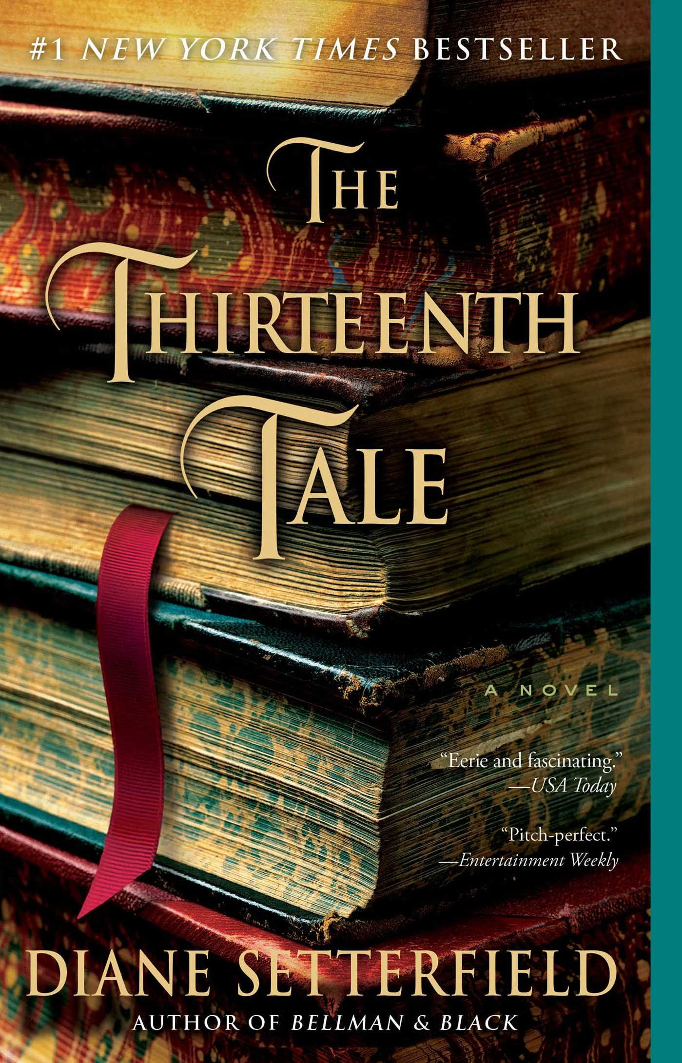 The Thirteenth Tale by Diane Setterfield book cover