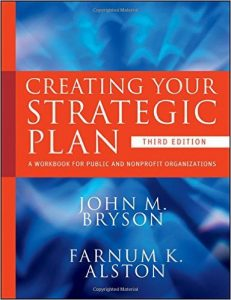 Creating Your Strategic Plan by Jonh Bryson and Farnum Alston book cover