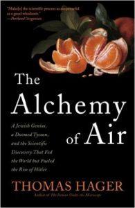 The Alchemy of Air by Thomas Hager book cover