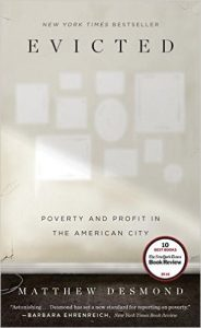 Evicted: Poverty and Profit in the American City by Matthew Desmond book cover