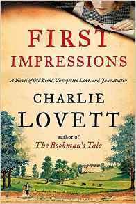 First Impressions by Charlie Lovett book cover