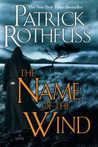 The Name of the Wind by Patrick Rothfuss book cover