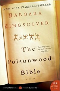 The Poisonwood Bible by Barbara Kingsolver book cover