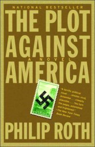 The Plot Against America by Phillip Roth book cover
