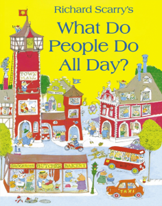 what do people do all day by richard scary book cover