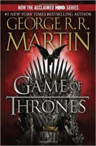 game of thrones by george r.r. martin book cover