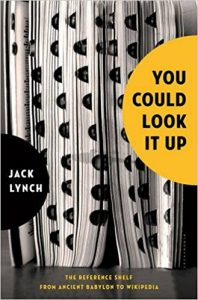 you could look it up by jack lynch book cover