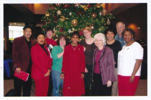 Library and Media Services staff, mid-2000s.